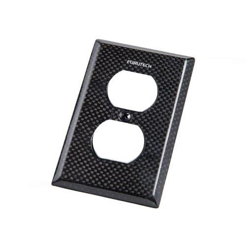 Outlet Cover 104-D カーボンコンセントカバー(UL規格2口タイプ)
