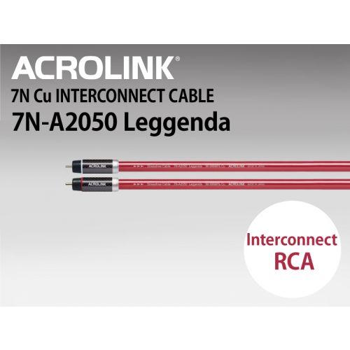 7N-A2050 Leggenda インターコネクトケーブル RCAペア