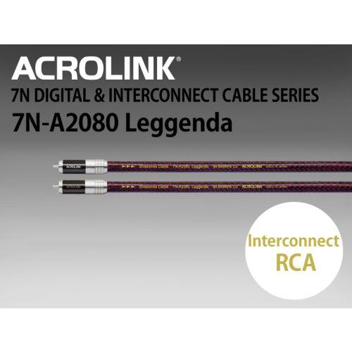 7N-A2080 Leggenda インターコネクトケーブル RCAペア