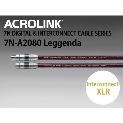 7N-A2080 Leggenda インターコネクトケーブル XLRペア