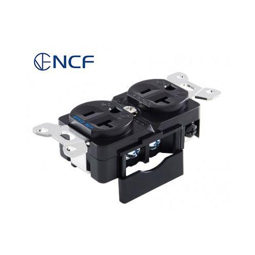 壁コンセント GTX-D NCF(R)ロジウムメッキ
