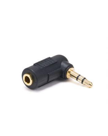 変換アダプター 3.5mmステレオ L型変換