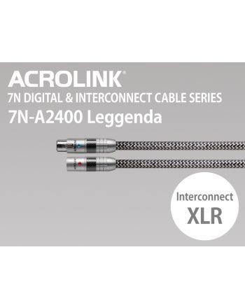 7N-A2400 Leggenda インターコネクトケーブル XLRペア