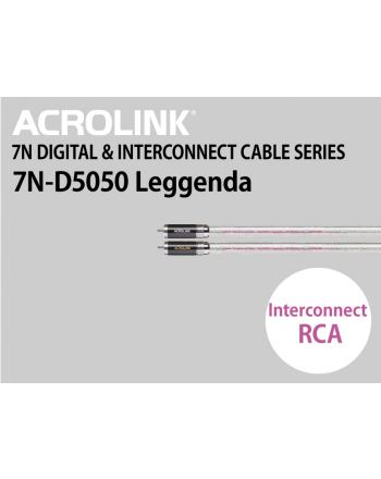 7N-D5050 Leggenda インターコネクトケーブルRCAペア