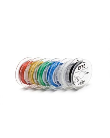 ETFE 0.4mm(AWG26)  10mボビン巻き