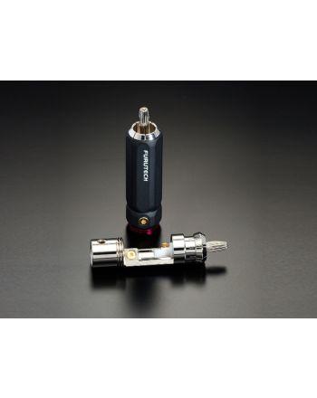 FP-106(R) ロジウムメッキRCAプラグ(4本1組)