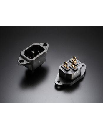 AC-INLET(R) ロジウムメッキIECインレット