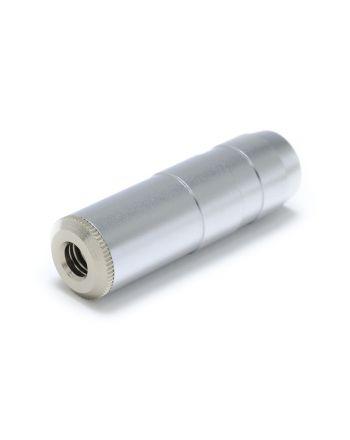 J-3.5SR シルバーロジウムメッキ 3.5mm中継プラグ(穴径4.0mm)