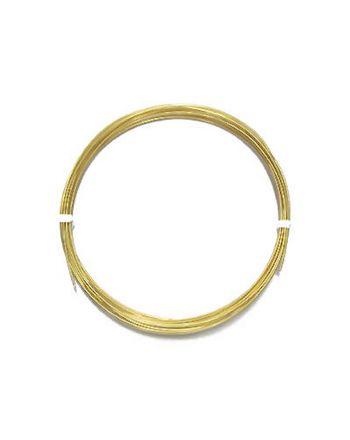 金メッキOFC単線 0.9mm 裸(被覆なし)
