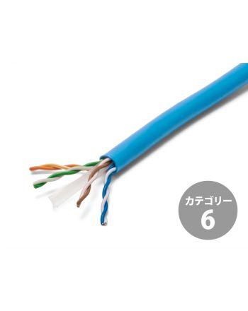 LANケーブル NSGDT6 0.5mm×4P CAT6(300m巻)