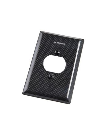 Outlet Cover 104-S カーボンコンセントカバー(UL規格1口タイプ)