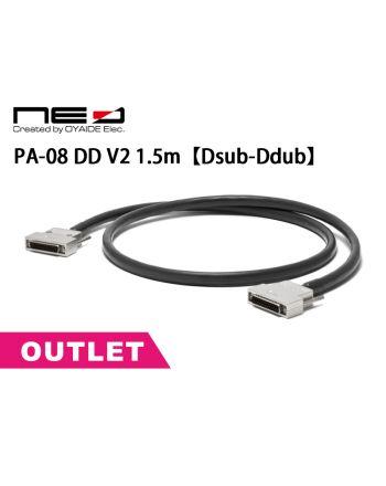 【アウトレット】PA-08 DD V2  1.5m【Dsub-Dsub】8chアナログ&AES/EBUデジタルマルチケーブル