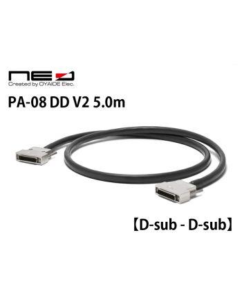 PA-08 DD V2  5.0m【Dsub-Dsub】8chアナログ&AES/EBUデジタルマルチケーブル