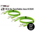 d+RCA for TurnTable classB DUO ターンテーブル専用RCAケーブル
