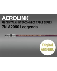 7N-A2080 Leggenda デジタルケーブル AES/EBU 1本