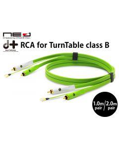 d+RCA for TurnTable classB ターンテーブル専用RCAケーブル